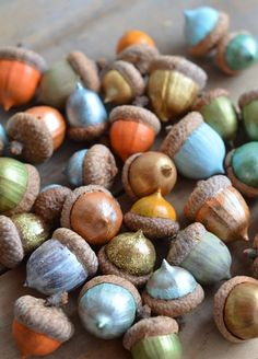DIY Decor Ideas: Paint Acorns for Fall Tablescapes — Home Stories A to Z