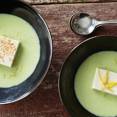 Andrea Nguyen's Silken Tofu and Edamame Soup Recipe