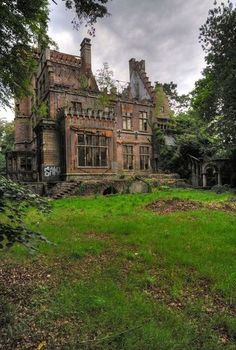 Forgotten Castle In Belgium