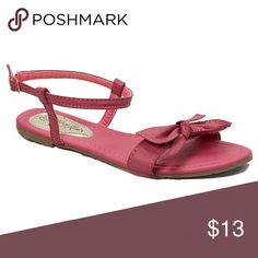 Women Fuchsia Slingback Flat Sandals S1465 Women black flat sandals. They have a gorgeous bow on the front. Perfect for walks on the beach. If you are taking a vacation, these sandals will show everyone that you know fashion! Victoria K Shoes Sandals