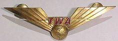 TWA *First Officer* Pilot's Wing -