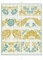 Gallery.ru / Фото #57 - Bordures et Frises Fleuries - Mongia