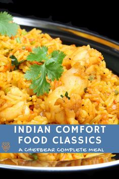 Indian cuisines are world-renowned for spice-forward flavor. Try my custom Indian Comfort Food Menu, which features easy dishes like Dal Tadka and Shrimp Biryani. Serve them with a zesty side of Masala Chana and two traditional Indian sauces. Cool your palate with yummy Indian rice pudding and a creamy cup of authentic chai tea! Indian Sauces, Indian Dishes, Best Indian Recipes, Ethnic Recipes, Indian Rice Pudding, Speedy Recipes, Lentil Dishes, Rice Recipes For Dinner, Spicy Dishes