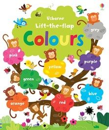 A fun and exciting way for children to learn about colours, with over 60 flaps to lift. With plenty of questions to answer and talk about, this book is perfect for sharing together. Includes naming, matching and counting activities.