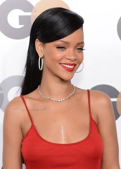 Rihanna at the 2012 GQ Men Of The Year Party