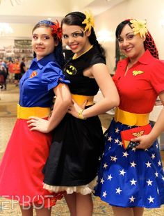 Next years Halloween costume: super heroes! Trio Halloween Costumes, Hallowen Costume, Halloween Cosplay, Diy Costumes, Halloween Fun, Cosplay Costumes, Costume Ideas, Mardi Gras, Superhero Party