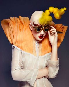 Exaggerated Carnival Captures - The Long Tran Culture Magazine Editorial is Circus Inspired (GALLERY)