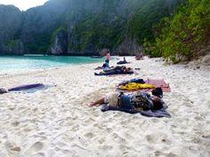 Camping at Maya Bay