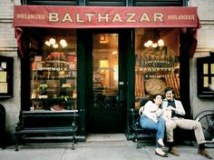 The renowned Balthazar Restaurant in SoHo serves traditional French fare from breakfast to dinner.