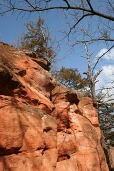 Red Rock Canyon Oklahoma Camping | Mr. Pish's Favorite Places, Red Rock Canyon State Park