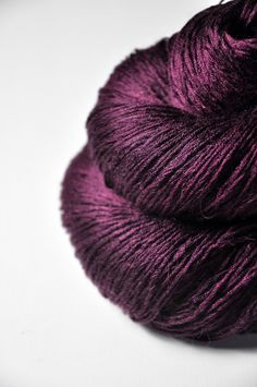 Stunning Plum Color: Pink fuchsias last day   Silk/BabyCamel lace weight by DyeForYarn, €25.50