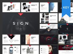 SIGN Keynote Presentation Template by GoaShape on @creativemarket