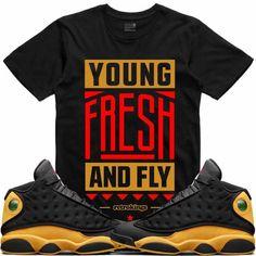 c3622687dc6f Air Jordan 13 Oak Hill Melo Sneaker Tees Shirt - YOUNG FRESH FLY RK Jordans  Sneakers