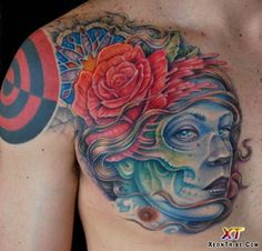 Creative Tattoos By Seth Wood, Great colors!