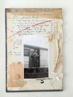 Found photo and book cover collageLee McKenna 2015