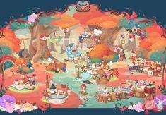 ポケコロガチャ図鑑 Game Concept, Concept Art, Light Girls, Cute House, Inner Circle, Cute Backgrounds, Games For Girls, Illustrations And Posters, Art Girl