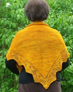 Knit from the bottom up. No spine! Free patter.
