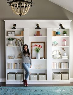 164 best bookcases and shelves images in 2019 rh pinterest com