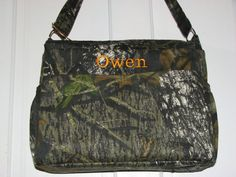 Made To Order Realtree or Mossy Oak Camo Diaper Bag and by ksfarm1, $48.00