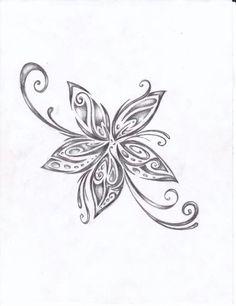 tribal foot tattoo tribal lotus flower tattoo hawaiian tribal tattoos ...