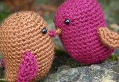 Amigurumi Love Birds by EnchantedLoot on Etsy, $20.00