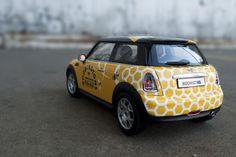 Boddingtons Car Wrap by Ann Bomar, via Behance