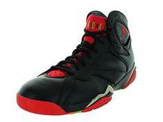 Nike Jordan Men's Air Jordan 7 Retro Blck/Unvrsty Rd/Grn Pls/Cl Gry Basketball Shoe 8.5 Men US USD 190.00