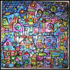 I want to try something like this.. made small shapes glued on and then aluminum foil and then painted with glass paint, sharpies and fabric dye. http://pachecris.deviantart.com/art/Repousse-Abstrunct-183734629