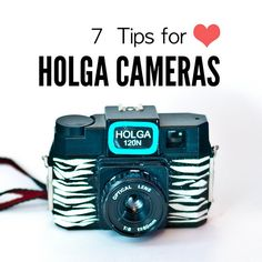 7 Tips for Holga Cameras + How to get your film developed at Walmart for CHEAP.
