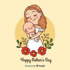 A mother's love is unconditional and pure! Ayur Herbals wishes all the super Moms a very Happy Mother's Day. May you stay blessed with health, wealth, and prosperity always. Mothers Day Cartoon, Mothers Day Drawings, Happy Mothers Day Images, Happy Mother S Day, Mothers Love, Mother Daughter Art, Mother Art, Free Hand Drawing, Baby Drawing