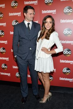 Marvel's Agents of SHIELD - Brett Dalton, Chloe Bennet - Agent Ward and Skye