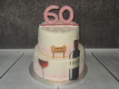 all edible birthday cake 60th Birthday Cakes, Cakes And More, Celebration, Desserts, Food, Meal, Deserts, Essen, Hoods