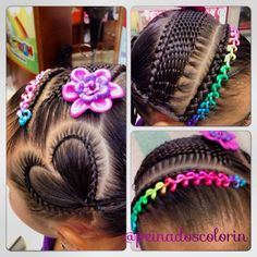 teenage hairstyles for school Shorts Teenage Hairstyles For School, Little Girl Hairstyles, Pretty Hairstyles, Braided Hairstyles, Short Hairstyles, Hair Due, Her Hair, Curly Hair Styles, Natural Hair Styles