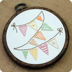 little lovelies: summer embroidery from littleloveliesbyallison.com