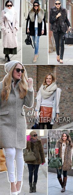 Chic Winter Wear Outfit Ideas | www.theglitterguide.com