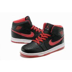 finest selection bf93b 94472 air jordan 1 bred Jordan 1, Jordan Retro, My Black, White Shoes,