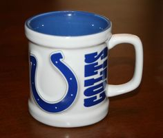 Indianapolis Colts Football 3D Ceramic Mug Coffee Cup New #IndianapolisColts