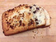 Made with Pioneer Buttermilk Baking Mix, this fluffy, chocolatey loaf sweetened with coconut takes only 45 minutes to make. Bisquick Recipes, Loaf Recipes, Quick Biscuits, Biscuit Mix, Coconut Chocolate, Muffin Bread, Fun Cooking, Pancake, Cravings