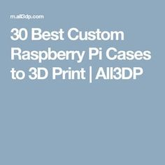 Looking for a cool custom Raspberry Pi case? Check out our selection of Raspberry Pi cases to print. From the Raspberry Pi 4 to the evergreen models Pi and Pi Projects, Arduino, 3d Printing, Raspberry, Cases, Prints, Impression 3d, Raspberries