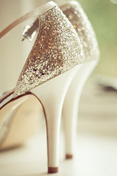 Bit of sparkle for my wedding shoes #wedding #shoes