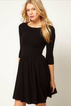 7 minutes of sleeve waist show thin render dress_Dresses_CLOTHING_Voguec Shop