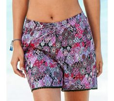 Šortky s potlačou   blancheporte.sk #blancheporte #blancheporteSK #blancheporte_sk #letnakolekcia Boho Shorts, Women, Fashion, Moda, Fashion Styles, Fashion Illustrations, Woman
