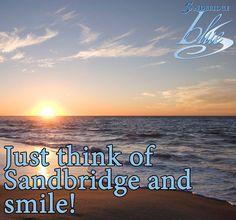 Just smile!   #Sandbridge #SandbridgeBeach #VirginiaBeach #BeachQuotes