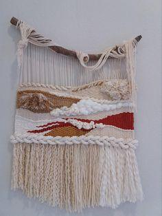 Weaving Loom Diy, Hand Weaving, Laser Cutter Projects, Weaving Wall Hanging, Macrame Design, Fibre Art, Weaving Patterns, Diy Projects To Try, Lana