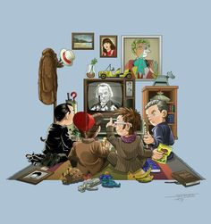 50 Years of The Doctor by angelsaquero on deviantART