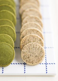 Tea Shortbread Coins | Thirsty For Tea