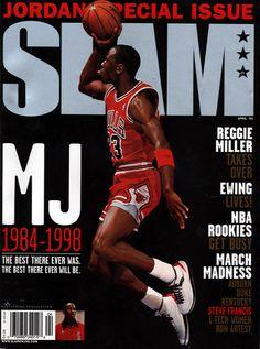 SLAM 33: Chicago Bull Michael Jordan appeared on the cover of the 33rd issue of SLAM Magazine (1999, Cover 1 of 2).