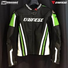 """114 Likes, 4 Comments - Blessed Motowear (@blessed_motowear) on Instagram: """"Dainese Kawasaki Racing Team Replica Leather Jacket 2016 #dainese #dainesecrew #dainesemoto…"""""""