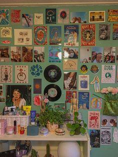 Indie Bedroom, Indie Room Decor, Cute Room Decor, Aesthetic Room Decor, Room Design Bedroom, Room Ideas Bedroom, Bedroom Decor, Cute Room Ideas, Pretty Room