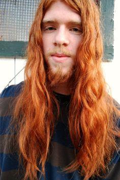 Hi, are u single? hahahaha  Ginger hair and beard